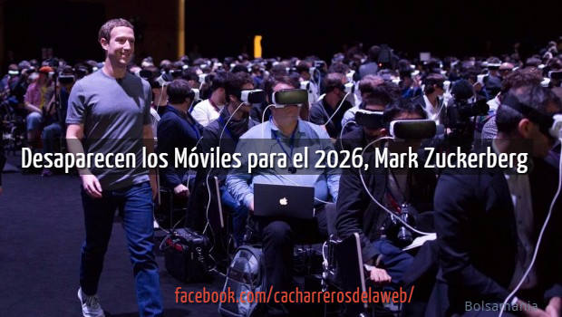 Mark Zuckerberg Realidad Virtual