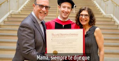 Mark Zuckerberg se gradúo en Harvard