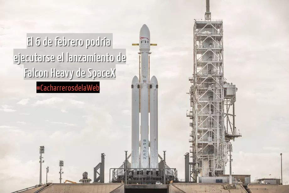 lanzamiento de Falcon Heavy de SpaceX
