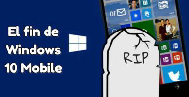 muerte de Windows 10 Mobile