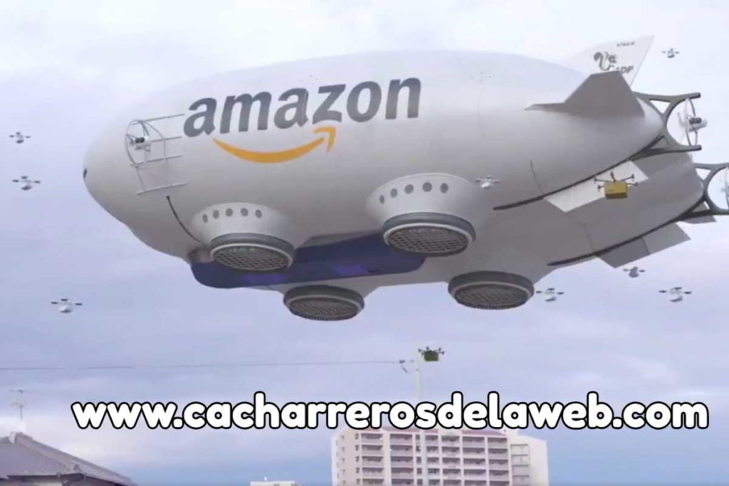 drones dirigibles de amazon